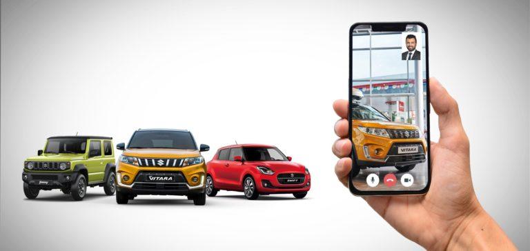 Suzuki de artık Online