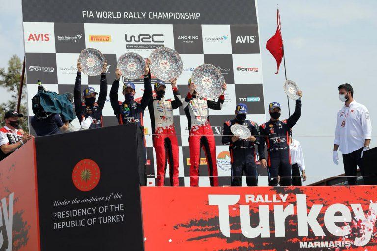2020 FIA Dünya Ralli Şampiyonası (WRC) 5. yarışı Türkiye Rallisi Başarıyla Tamamlandı